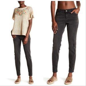 KUT from the Kloth Black/Gray Boyfriend Jeans Sz 8